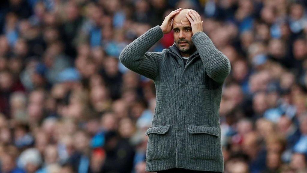 Komentari Wasit Derby Manchester, Guardiola Terancam Didakwa FA