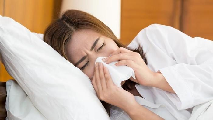 Ilustrasi flu hingga dirawat di rumah sakit. Foto: shutterstock