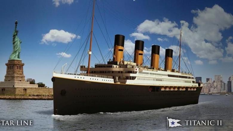 Foto: Kapal Titanic II (Reuters)