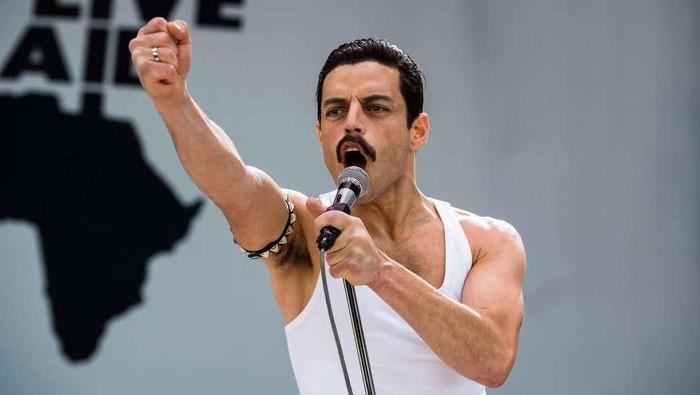 Rami Malek berperan sebagai Freddie Mercury. Foto: Istimewa