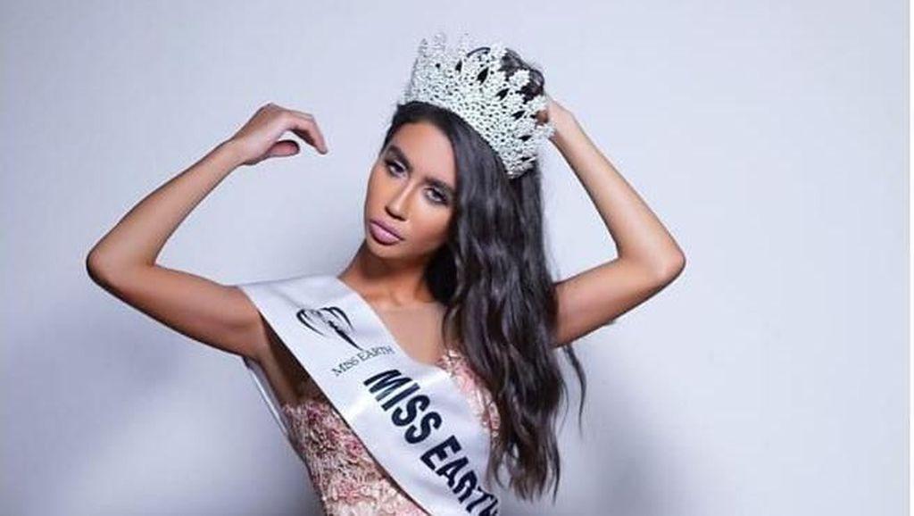Miss Earth Lebanon Ini Dipecat karena Foto Bareng Finalis Israel