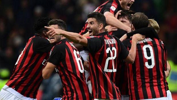 AC Milan kini ada di zona Liga Champions.