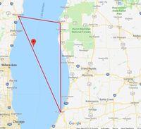 Mengenal Danau Michigan, 'Kembaran' Segitiga Bermuda
