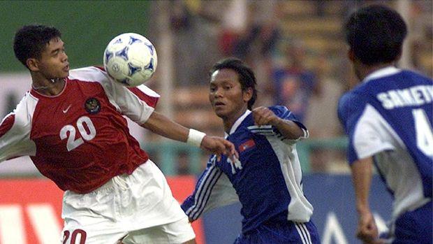 Ketajaman Bambang Pamungkas membuatnya jadi pencetak gol terbanyak di Piala AFF 2002.