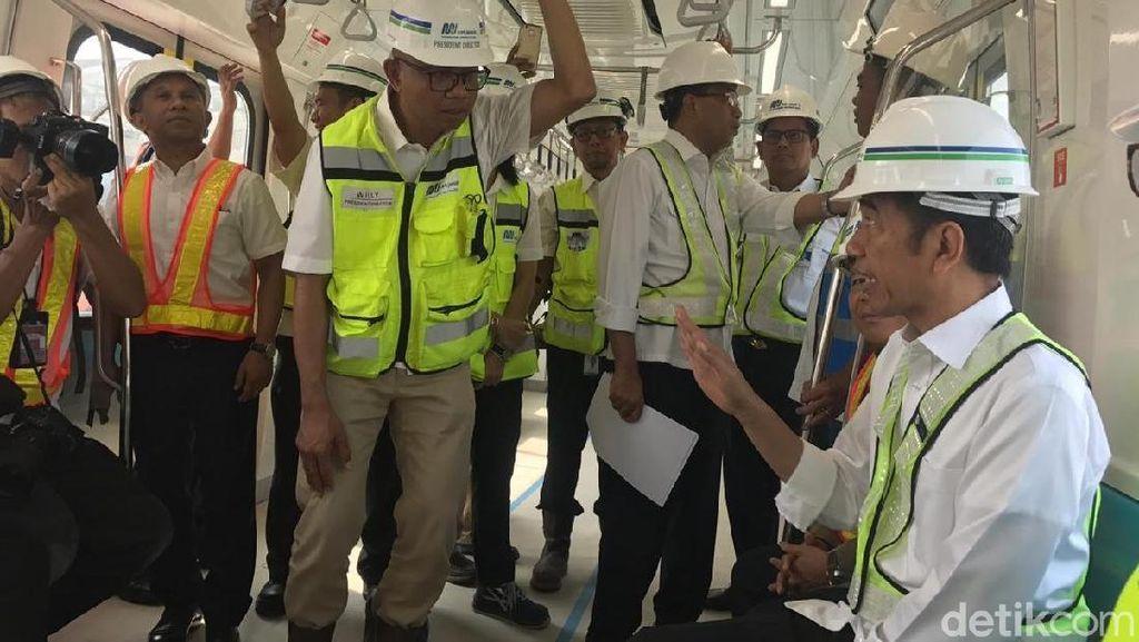 Jokowi Pertama Kali Jajal MRT Bundaran HI-Lebak Bulus