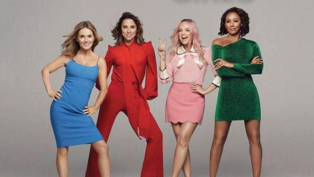 Sound Bermasalah, Sebagian Fans Tinggalkan Konser Spice Girls