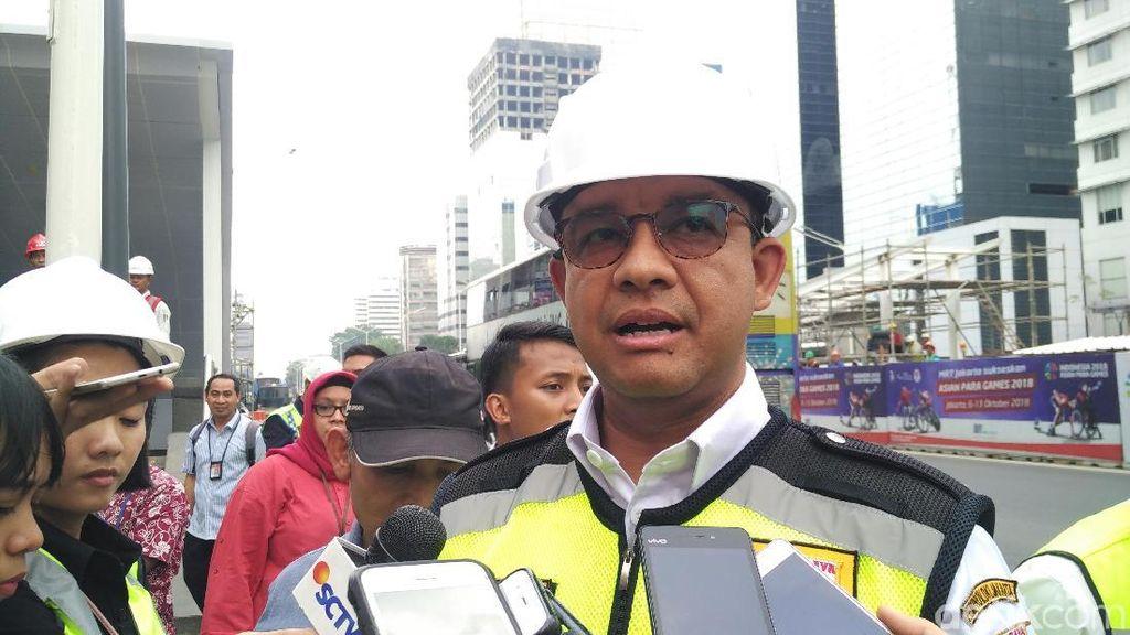 Anies Mau Manjakan Warga DKI: Transportasi Umum 500 M dari Rumah