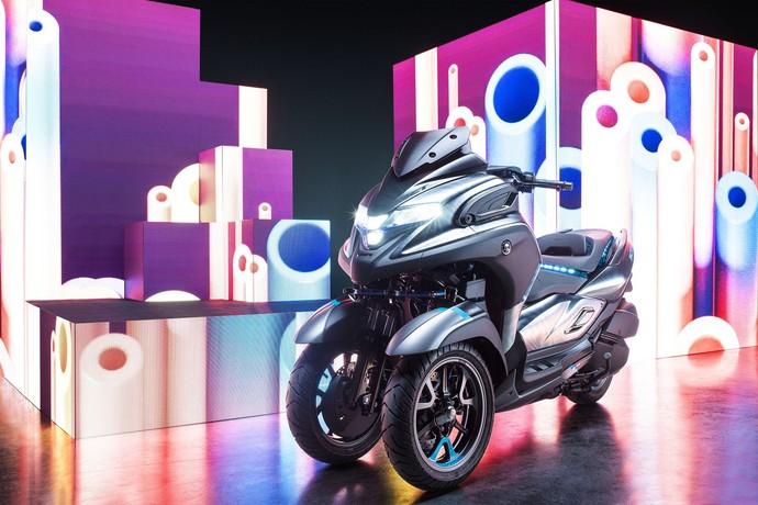 Begini Jadinya Kalau Yamaha Xmax Beroda Tiga
