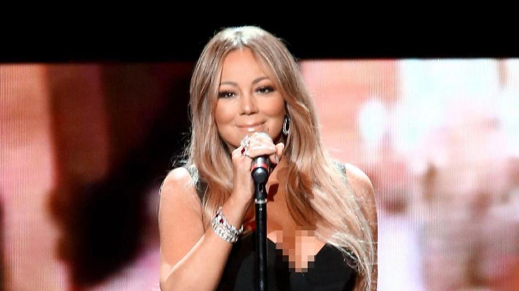 Mariah Carey Rela Jongkok di Depan Mesin Popcorn Demi Hasil Selfie Maksimal