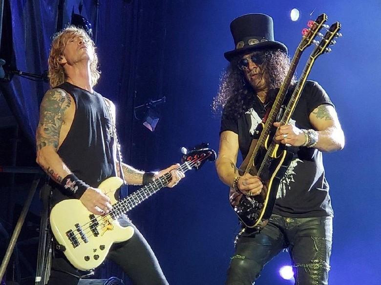 Deretan Lagu di Guns N Roses Not in This Lifetime Tour