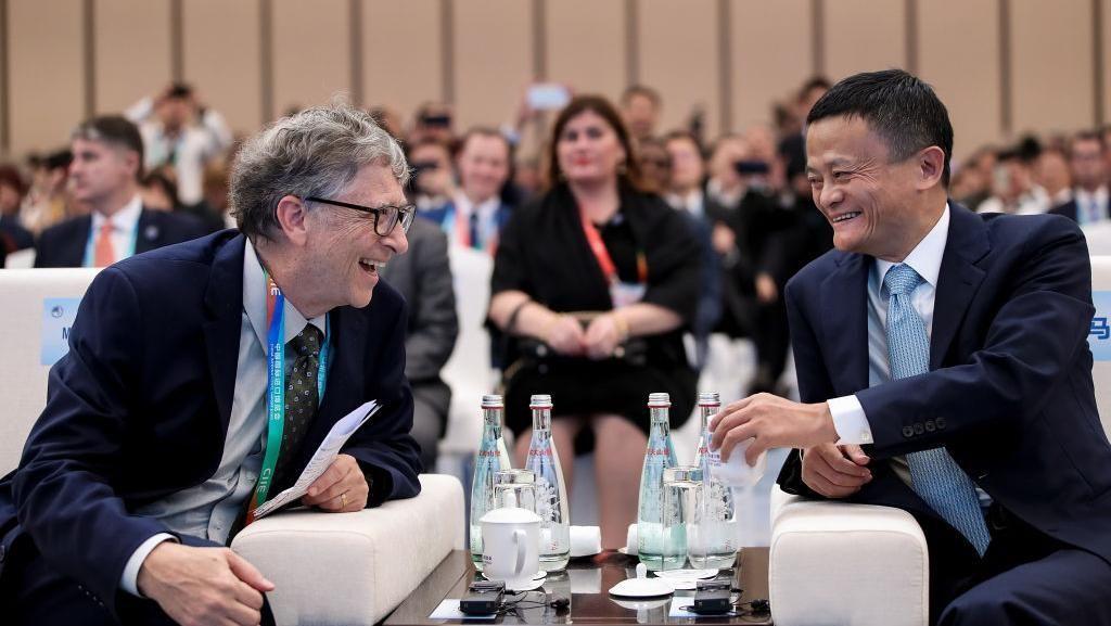 Mengintip Keakraban Bill Gates dengan Jack Ma