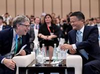 Bill Gates Jack Ma