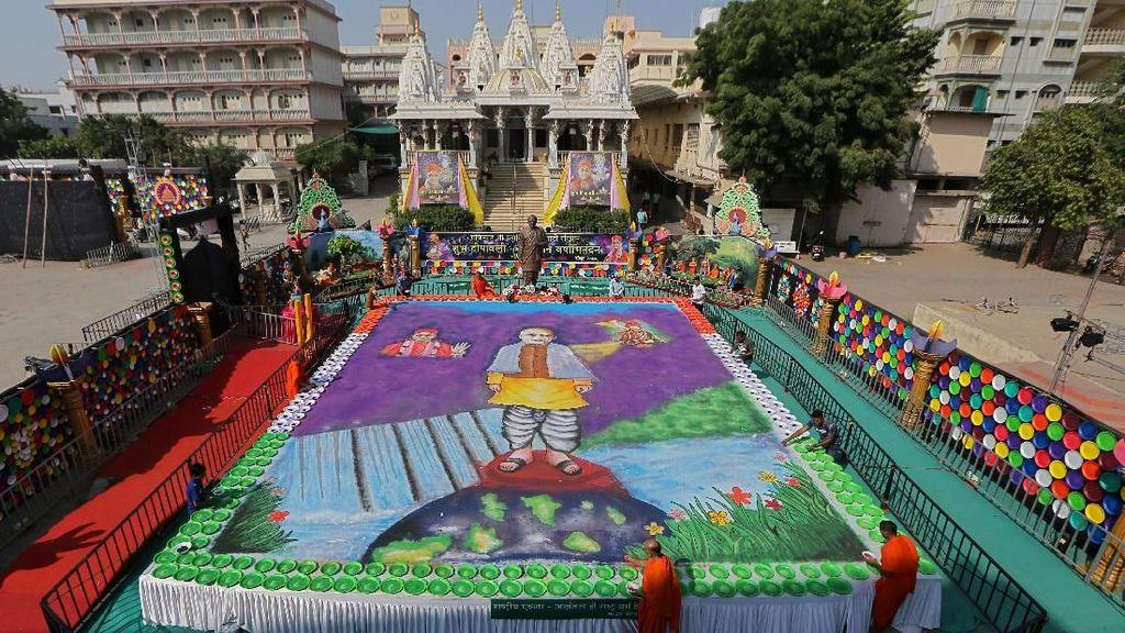 Antusiasme Warga India Menyambut Perayaan Diwali