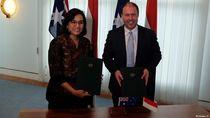 RI dan Australia Tandatangani Kesepakatan Kerja Sama Ekonomi Baru