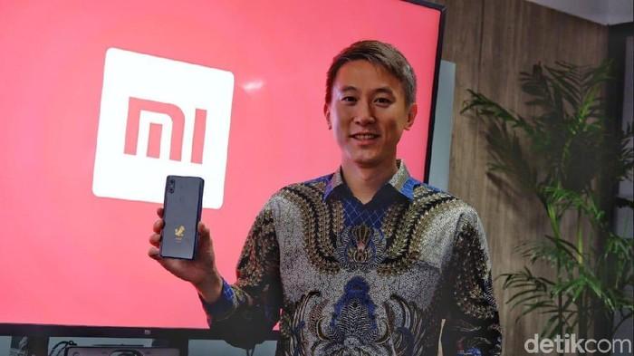 Chief Financial Officer (CFO) Xiaomi Chew Shou Zi . Foto: Adi Fida Rahman/detikINET