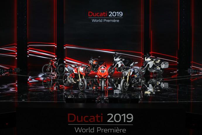 Belasan Moge Ducati Anyar Meluncur
