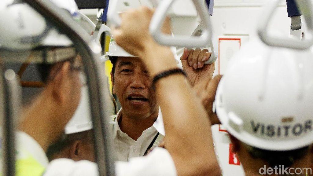 Jokowi Sebut MRT Bakal Dibangun Lagi di Kota Ini