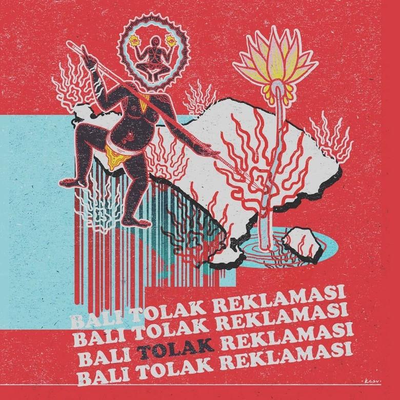 Antara Budaya Kuno Bali dan Sakral di Karya Kuncir Sathya Viku