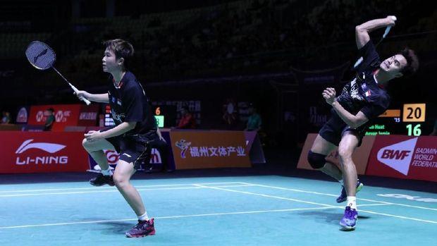 Tontowi Ahmad/Liliyana Natsir berhasil lolos ke babak kedua Indonesia Masters.