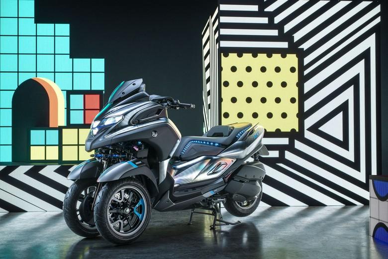 Yamaha 3CT, Prototipe XMAX Roda Tiga. Foto: Dok. Yamaha