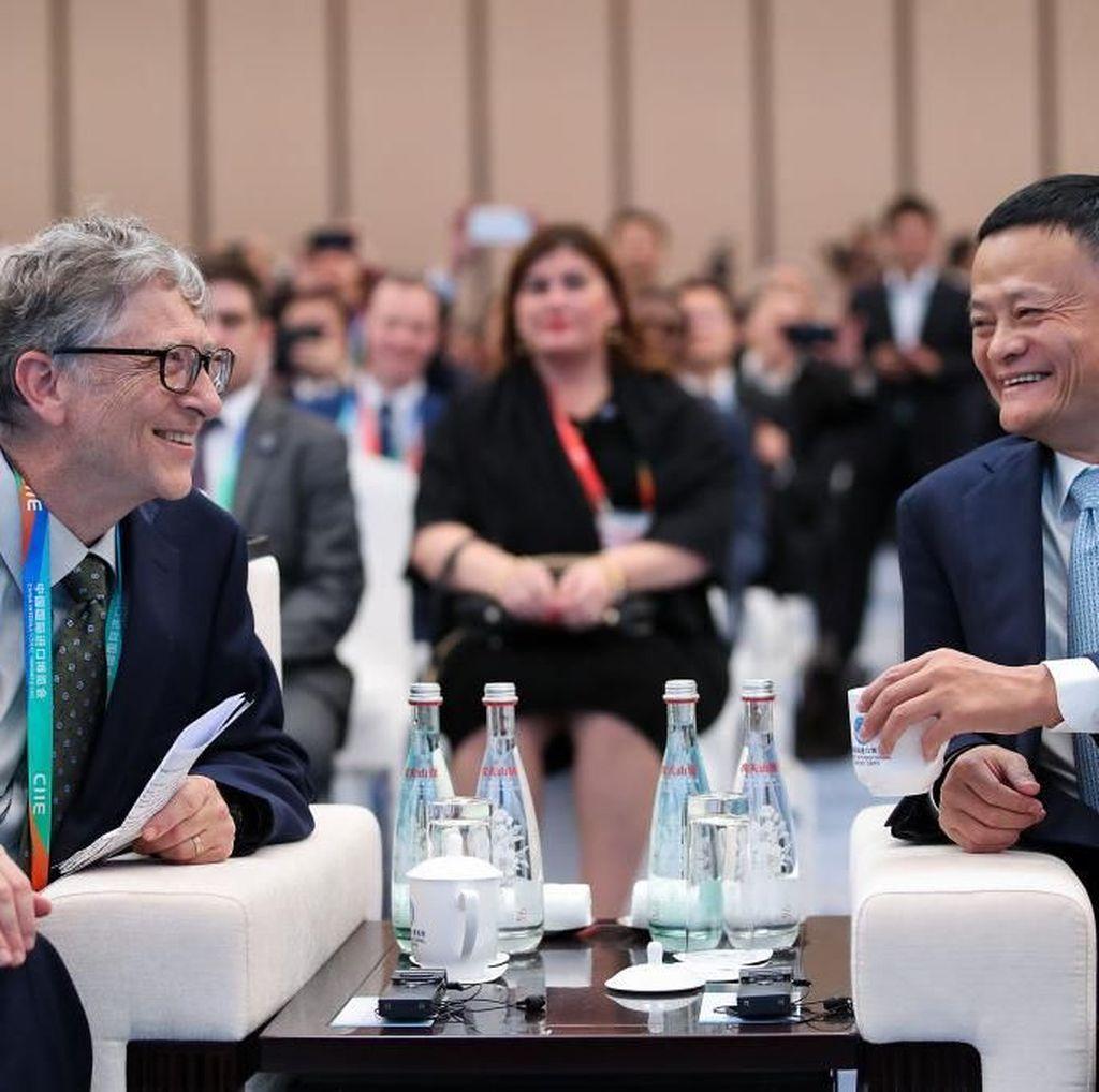 Mengenal Sosok Jack Ma dan Bill Gates yang Diklaim Sunda Empire