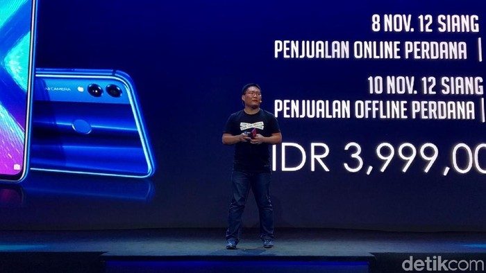 Presiden Honor Indonesia James Yang menargetkan pihaknya jadi nomor 1 di Indonesia dalam lima tahun (Foto: Muhamad Imron Rosyadi/detikINET)