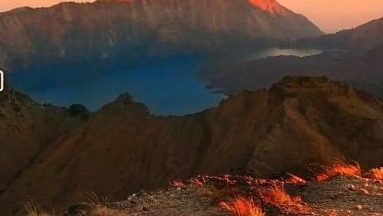 Foto: Gunung Rinjani (Istimewa)