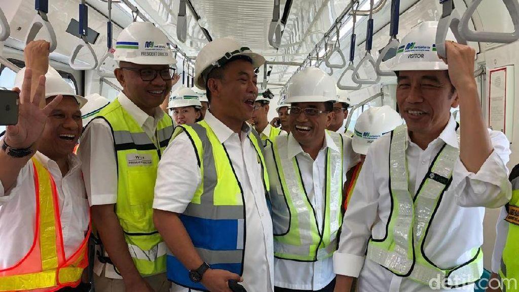 Video: Jokowi Jajal MRT Bundaran HI-Lebak Bulus