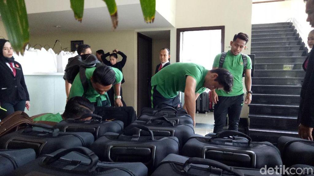 Timnas Tinggalkan Cikarang, Menuju Singapura untuk Piala AFF