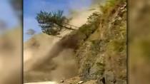 Ngeri! Detik-detik Tebing Longsor di Filipina