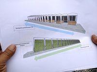 Desain penataan PKL Cicadas Bandung