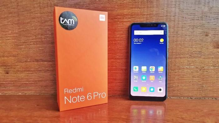 Review Redmi Note 6 Pro. (Foto: Adi Fida Rahman/detikINET)
