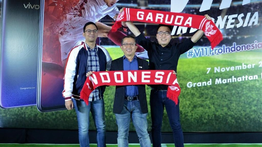 Piala AFF 2018, Vivo Kampanyekan V11 Pro Indonesia Juara