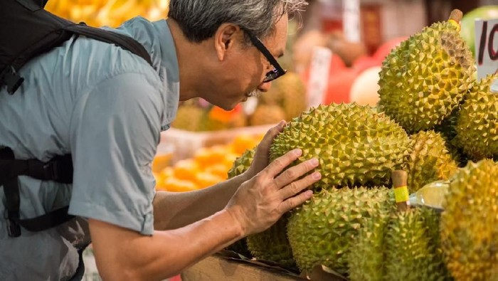 Bagi yang suka, wangi durian memang menggoda (Foto: iStock)