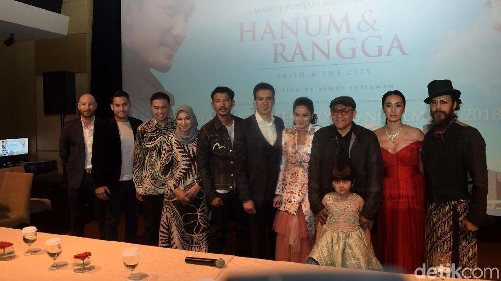 Hanum & Rangga Capai 401.363 Penonton, Hanum Rais Ucap Pamit