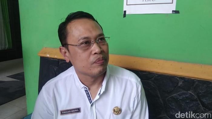 Kepala Dinas Kesehatan Kota Kediri, dr Fauzan Adhima. (Foto: Andhika Dwi)