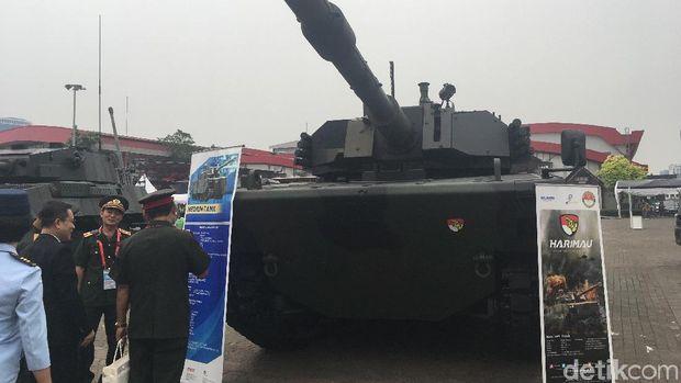 Penampakan Tank Harimau Buatan Pindad yang Lincah-Akurat Menembak