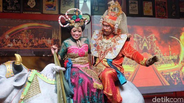 Artistik Lakon 'Mahabarata' Teater Koma Gunakan Teknik Seperti Film