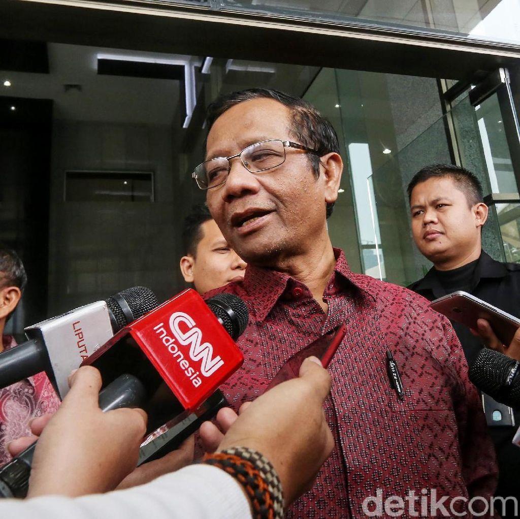 Mahfud MD Dukung Ide Jokowi Soal Badan Legislasi Nasional