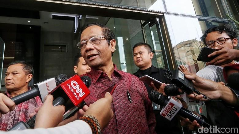 OTT Rommy, Mahfud: Tak Mungkin Operasi Prabowo Apalagi Permainan Jokowi
