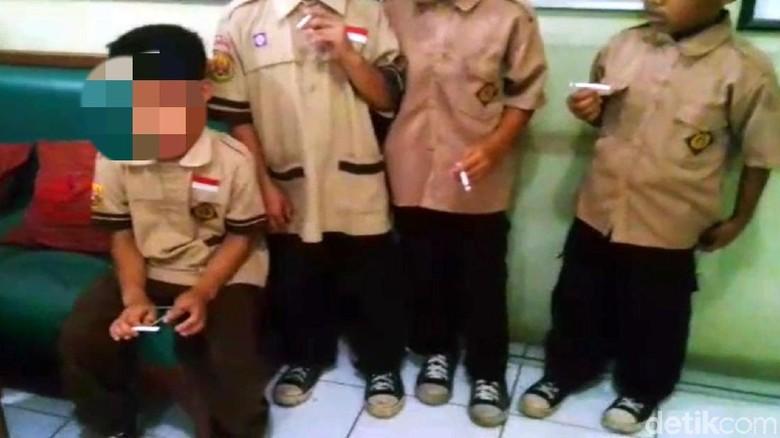 Viral Video Anak SD di Sukabumi Merokok di Sekolah, Begini Faktanya