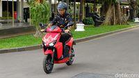 Sudah Dicoba Jokowi, Gesits Bakal Diproduksi di Cileungsi