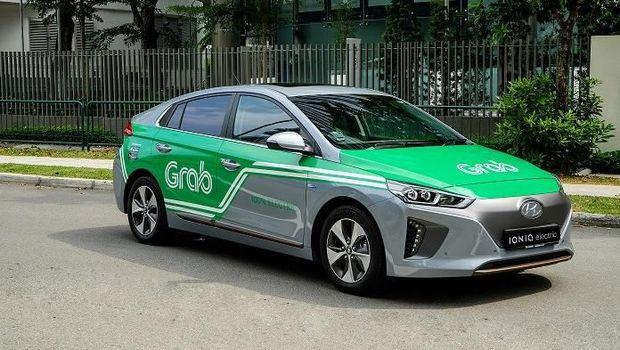 Hyundai Ioniq sudah digunakan Grab di Singapura