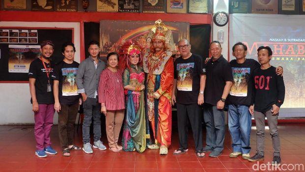 Tiket Pertunjukan 'Mahabarata' Teater Koma 75 Persen Terjual