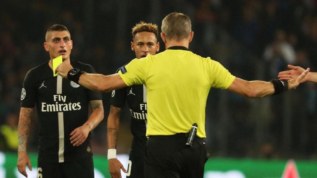 Lawan Napoli, Neymar Merasa Diremehkan Wasit