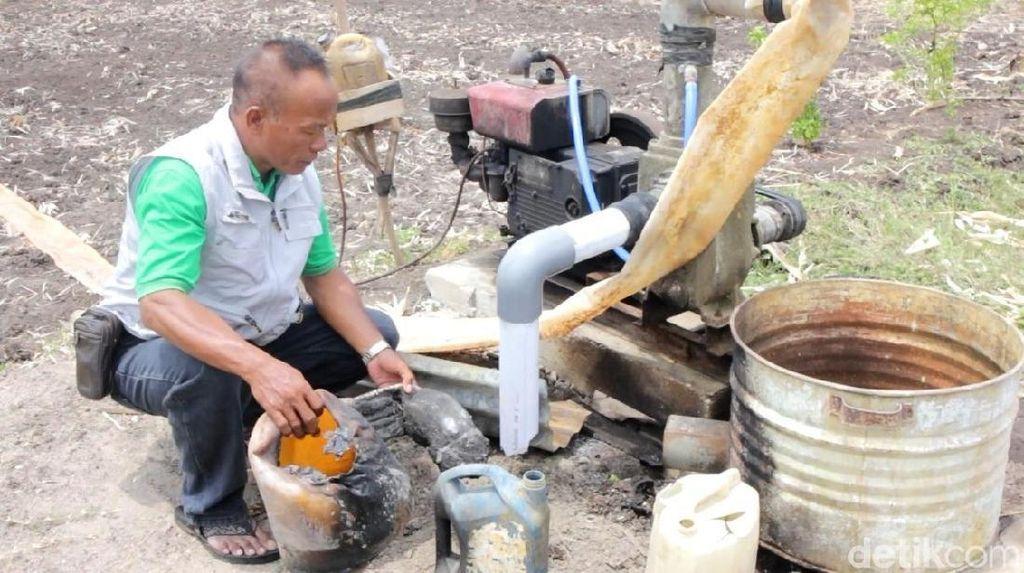 Diduga Rebutan Air Sawah, Pompa Air Irigasi di Ponorogo Dirusak