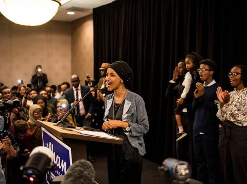 Ilhan Omar Jadi Hijabers Pertama yang Menduduki Kursi Kongres AS
