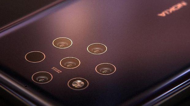 Nokia 9 siap membawa 5 kamera belakang.
