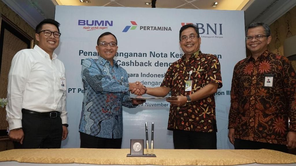 BNI Gandeng Pertamina Operation Region III