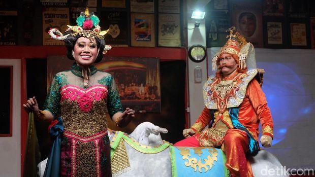Teater Koma Siap Pentaskan 'Mahabarata: Asmara Raja Dewa'
